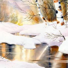 Birch Medley by Teresa Ascone