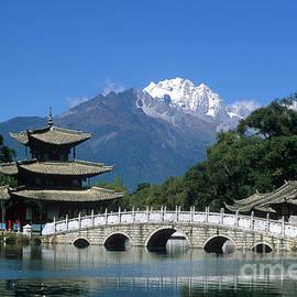 Black Dragon Pool Lijiang China by James Brunker