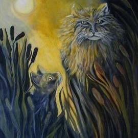 Cattails by Carolyn LeGrand