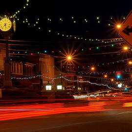 Christmas In Columbiana Ohio by David Dufresne