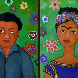 Diego And Frida by Pristine Cartera Turkus