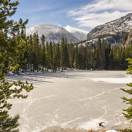 Frozen Nymph Lake - Rocky Mountain National Park Estes Park Colorado by Brian Harig