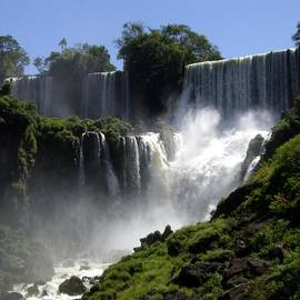 Iguassu Falls by Barbie Corbett-Newmin