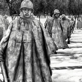 Korean War Memorial Washington DC by Bob and Nadine Johnston