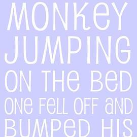 Monkey Jumping On The Bed by Jaime Friedman