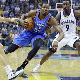 Oklahoma City Thunder V Memphis by Andy Lyons