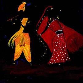 Pratyasha Nithin - Radha Krishna Dancing