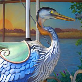 Riverfront Carousel by Ann Horn