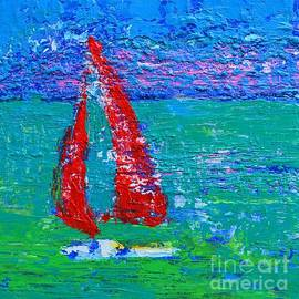 Sailboat  by Patricia Awapara