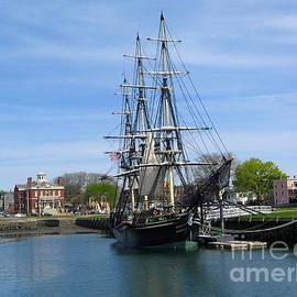 Salem Harbor by Denise Mazzocco