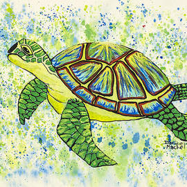 Sea Turtle by Darice Machel McGuire
