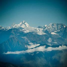 Raimond Klavins - Sunrise Himalayas mountain Nepal