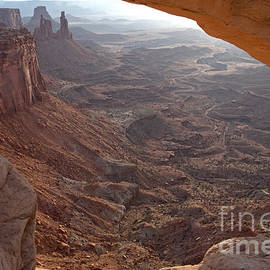 Sunrise Mesa Arch Canyonlands National Park by Fred Stearns
