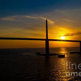 Sunshine Skyway Bridge by Rene Triay Photography