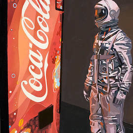 The Coke Machine - Fine Art