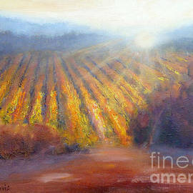 Winery Light by Carolyn Jarvis
