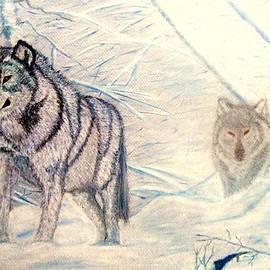 Jay Johnston - 2 Winter Wolves