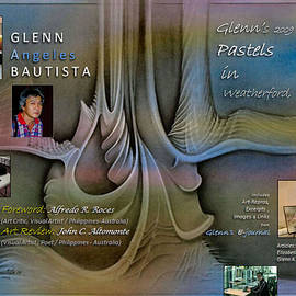 2009 Weatherford Pastels Book Cover by Glenn Bautista