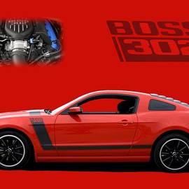 Tim McCullough - 2013 Mustang Boss 302