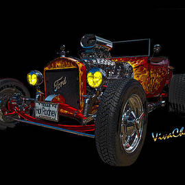 23 Ford Hot Rod by Chas Sinklier
