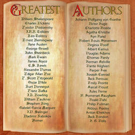 50 Greatest Authors by Gunter Nezhoda