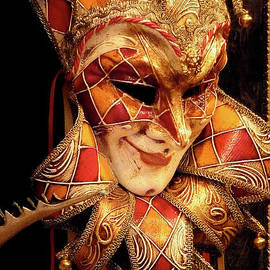Carnivale Mask 1 by Vicki Hone Smith