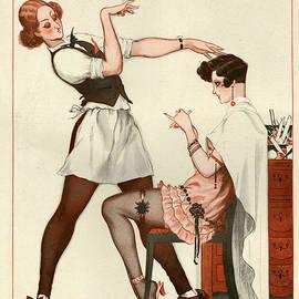 The Advertising Archives - La Vie Parisienne 1925 1920s France Cc