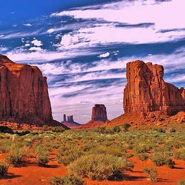 Monument Valley 2 - North Window by Allen Beatty