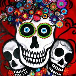 Pristine Cartera Turkus - 3 Skulls