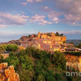 Sunrise over Roussillon by Brian Jannsen