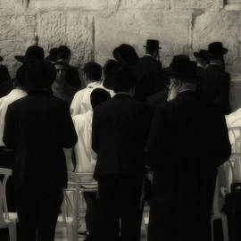 Praying At The Wailing Wall by Doc Braham