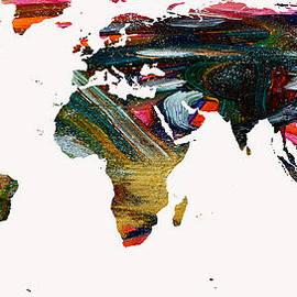 Augusta Stylianou - World Map and Human Life