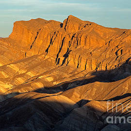 Zabrinskie Point Death Valley National Park by Fred Stearns