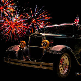 Chas Sinklier - 31 Five Window Coupe on the Fourth of July