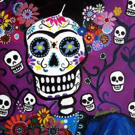 Frida Dia De Los Muertos by Pristine Cartera Turkus