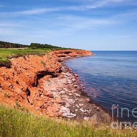 Prince Edward Island coastline 3 by Elena Elisseeva