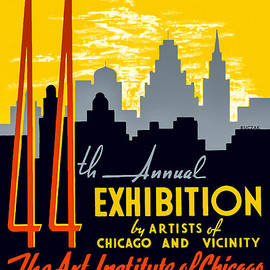 44th Annual Exhibition By Artists Of Chicago And Vicinity by Mark E Tisdale