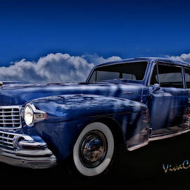 Chas Sinklier - 48 Lincoln Continental By Moonlight