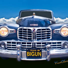 Chas Sinklier - 48 Lincoln Continental Grille on Bigun