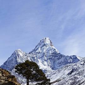 Robert Preston - Ama Dablam mountain in the Everest Region of Nepal