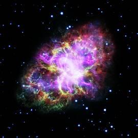 Crab Nebula by Nasa/esa/stsci/science Photo Library