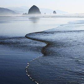 Steven A Bash - Haystack Rock from Chapman Point