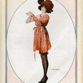 The Advertising Archives - La Vie Parisienne  1918 1910s France Cc