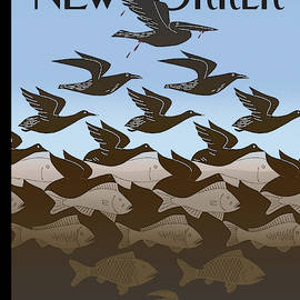 New Yorker July 5th, 2010 by Bob Staake