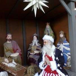 6 Wise Men at the Nativity by GJ Glorijean
