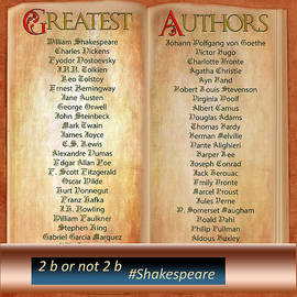 50 Greatest Authors And Some Extra by Gunter Nezhoda