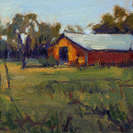 Afternoon at the Ranch 3 by Konnie Kim