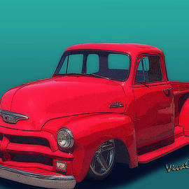 Chas Sinklier - 54 Chevy Pickup Get Down Outta Town