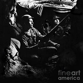 5th RCT Tunnels 40 yds from Chinese Communists by Bob and Nadine Johnston