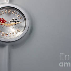 61 Corvette-Grey-TrunkLogo-9251 by Gary Gingrich Galleries
